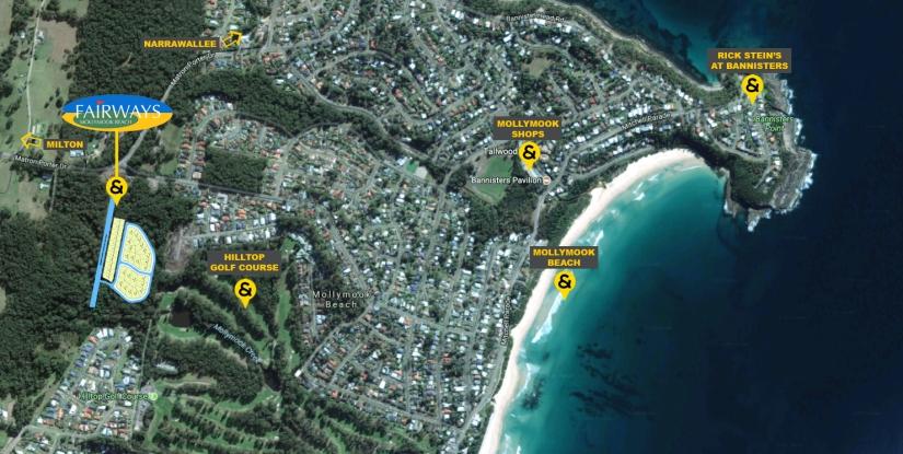 fairways aerial map