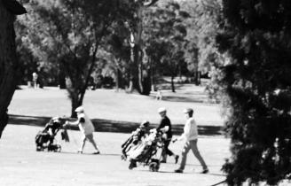 golf b n w